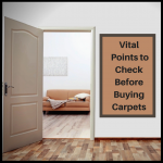 Carpets - vital points